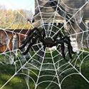 Deals List: Aizmei 200-in Halloween Spider Web + 49-in Giant Spider