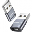 Deals List: 2-Pack Jsaux USB-C Female To USB-A Male Adapter