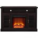 "Deals List: Ameriwood Home Chicago Electric Fireplace TV Console for TVs up to a 50"", Espresso,1764096PCOM"
