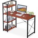 Deals List: ODK Computer Desk w/Storage Shelves 47-in Writing Desk