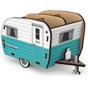 Deals List: Genuine Fred Happy Camper - Vintage Camper Pencil Holder, White and Blue (5242680)