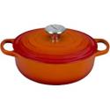 Deals List: Le Creuset Enameled Cast Iron Signature Sauteuse Oven, 3.5 qt, Flame