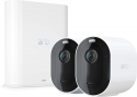 Deals List: Arlo Pro 3 – Wire-Free Security 2 Camera System | 2K with HDR, Indoor/Outdoor, Color Night Vision, Spotlight, 160° View, 2-Way Audio, Siren | Works with Alexa | (VMS4240P) (Renewed)