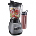 Deals List: Hamilton Beach 58181 Blender to Puree, Crush Ice, and Make Shakes and Smoothies, 40 Oz Glass Jar, 6 Functions + 20 Oz Travel Container