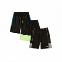 Deals List:  3-Count Hind Boys' Performance Shorts (various)