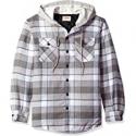 Deals List: Wrangler Authentics Mens Long Sleeve Shirt Jacket w/Hood