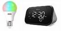 Deals List: Lenovo Smart Clock Essential and Smart Color Bulb (Wi-Fi, A19, 800 Lumen - 60 Watt Equiv.)