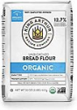 Deals List: King Arthur, 100% Organic Unbleached Bread Flour, Non-GMO Project Verified, No Preservatives, 2 Pounds (Pack of 12)