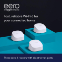 Deals List: eero 6 AX1800 Dual-Band Mesh Wi-Fi 6 System (3-pack), M110311