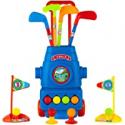 Deals List: Toyvelt Kids Golf Club Set Golf Cart With Wheels