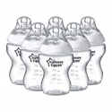 Deals List: Tommee Tippee Closer to Nature Baby Feeding Bottles - 9oz, 6pk