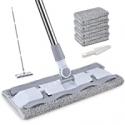 Deals List: HOMTOYOU Microfiber Hardwood Floor Mop CAR-4PBT w/4 Pads