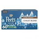 Deals List: 60CT Peets Coffee Dark Roast Single Serve K-Cup Chalet Blend