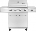 Deals List: Nexgrill Evolution 5-Burner Propane Gas Grill in Stainless Steel with Side Burner and Infrared Technology (720-0882A)