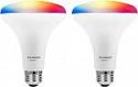 Deals List: 2-Pk SYLVANIA BR30 LED Smart Light Bulb (Used)