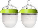 Deals List: Comotomo Baby Bottle, Green, 5 Ounce (2 Count)