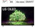 """Deals List: LG 77"""" A1 Series 4K UHD OLED TV + 3-YR Protection Plan + Get $270 Costco Card"""