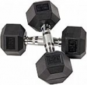 Deals List: Sporzon! Rubber Encased Hex Dumbbell in Pairs or Singles