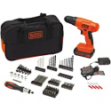 Deals List: BLACK+DECKER 20V MAX Drill & Drill Bit Set, 100 Piece (BDC120VA100) , Orange