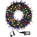 Deals List: Funiao 105-Ft 300 LED Waterproof Indoor Outdoor String Lights