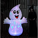 Deals List: GOOSH 5 FT Halloween Inflatable Outdoor Cute Ghost