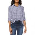 Deals List: A.n.a Womens Long Sleeve Regular Fit Button-Down Shirt