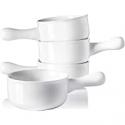 Deals List: 4-PK Sweese 109.101 Porcelain Onion Soup Bowls 15 Oz
