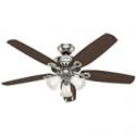 Deals List: Hunter Fan Company 53237 Builder Plus Indoor Ceiling Fan 52in