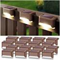 Deals List: 16-Pack DenicMic Weatherproof LED Solar Deck Lights