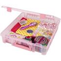 Deals List: ArtBin 6955RK Super Satchel 1-Compartment Box, Art & Craft Organizer, 1-Pack, Translucent Blush, 1 Pack
