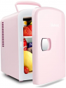 Deals List: AstroAI Mini Fridge, 4 Liter/6 Can AC/DC Portable Thermoelectric Cooler and Warmer Refrigerators for Skincare, Beverage,Foods, Medications, Home and Travel, ETL Listed