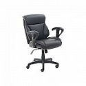 Deals List: Dormeo C200 Bonded Leather Task Chair, Black (60023)
