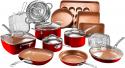 Deals List: 20-Piece Gotham Steel Cookware & Bakeware Set w/Nonstick Coating