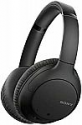 Deals List: Sony Noise Cancelling Headphones WHCH710N: Wireless Bluetooth Over the Ear Headset with Mic for Phone-Call