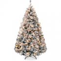 Deals List: Best Choice Products 4.5ft Pre-Lit Holiday Christmas Pine Tree