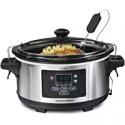 Deals List: Hamilton Beach Portable 6-Quart Set & Forget Digital Slow Cooker