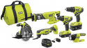 Deals List: RYOBI ONE+ 18V Cordless 4-Tool Combo Kit w/2 Batteries & Charger