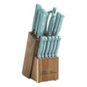 Deals List: The Pioneer Woman Cowboy Rustic 14-Piece Forged Cutlery Knife Block Set