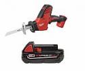 Deals List: Milwaukee M18 Cordless Hackzall Reciprocating Saw + Battery