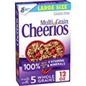 Deals List: Multi Grain Cheerios Breakfast Cereal Gluten Free Oats 12oz