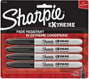 Deals List: Sharpie Extreme Permanent Markers, Black, 4-Count