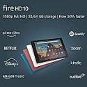 "Deals List: Amazon Fire HD 10 Tablet (10.1"" FHD display, 32 GB)"