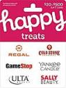 Deals List: $50 Happy Treats Gift Card $42.50