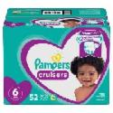 Deals List: 104-Ct Pampers Cruisers Diapers Super Pack Size 6 + $10 GC