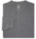 Deals List: 1905 Collection Tailored Fit Henley Knit Shirt (multiple colors)