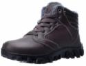 Deals List: Barerun Mens Winter Boots Fur Lined Warm Outdoor Hiking Waterproof Snow Boots for Men