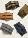 Deals List: 5-Pack Triple-Layer Cloth Face Masks