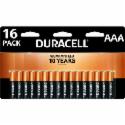 Deals List: 16-Pk Duracell Coppertop AAA Alkaline Batteries + 100% Back in Rewards
