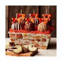 Deals List: Mrs. Prindables Rustic Leaves Caramel Apple Gift Tray