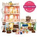 Deals List: BCP Deluxe Cottage Dollhouse Mansion Pretend Toy Playset
